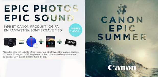 Canon Epic Sommer