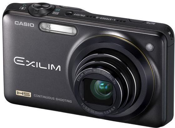 Casio Exilim EX-ZR10 Sort