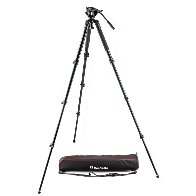 MANFROTTO Stativkit Video MVK500AQ/MVH500AH