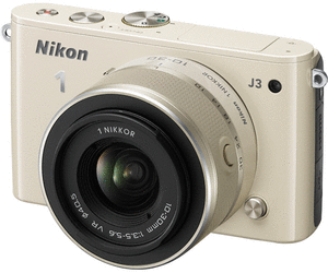 NIKON 1 J3 KIT BEIGE M/10-30MM VR