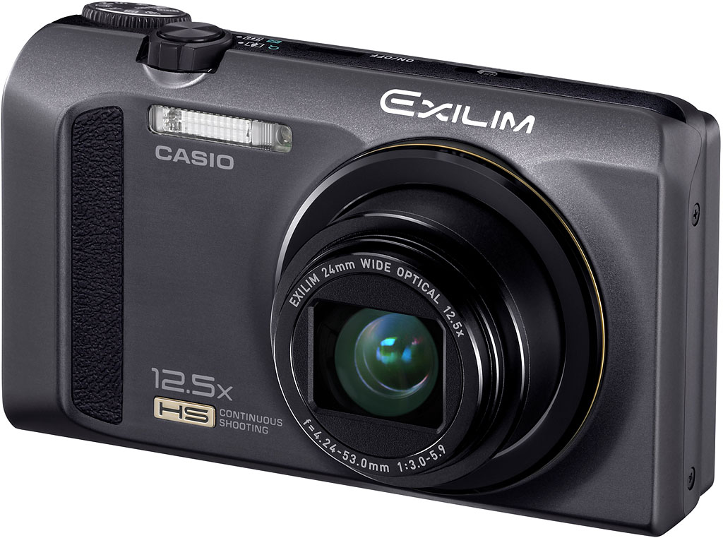 Casio Exilim EX-ZR100 Sort