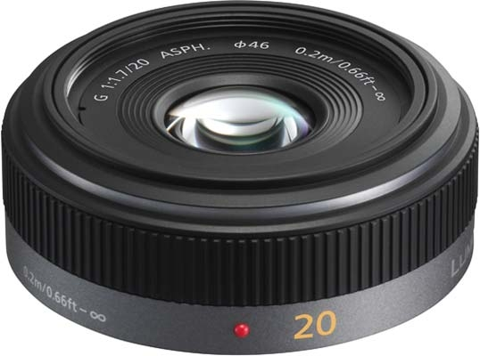 Panasonic 20mm f:1.7 G-serien